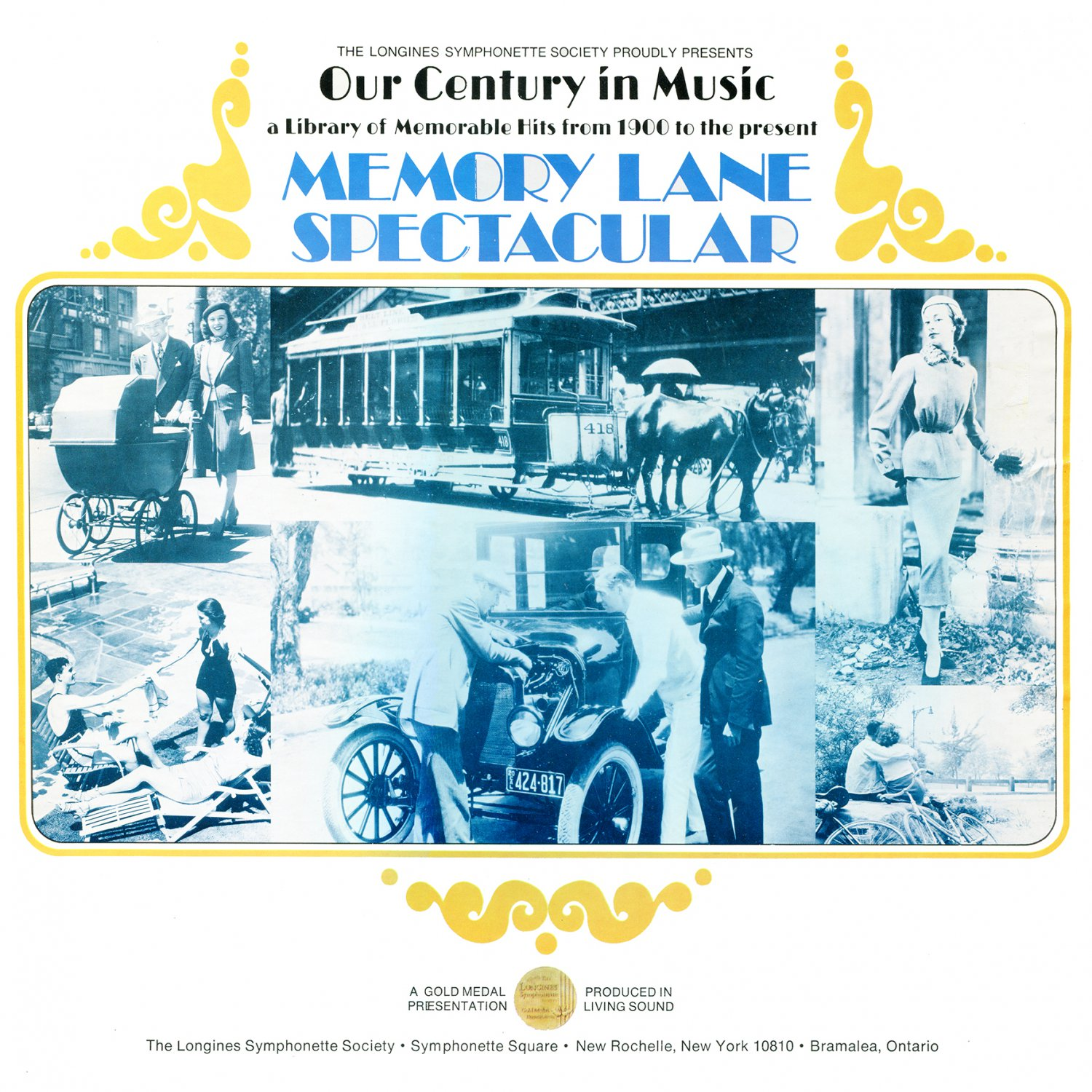 Our Century In Music: Memory Lane Spectacular - Library of Memorable Hits Collection LP/CD
