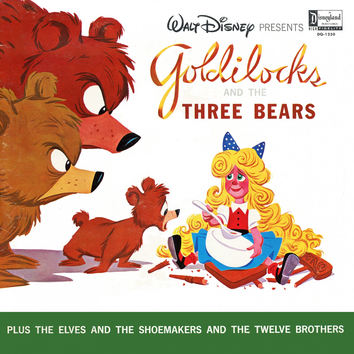 Goldilocks and the Three Bears - Walt Disney Story Soundtrack LP/CD