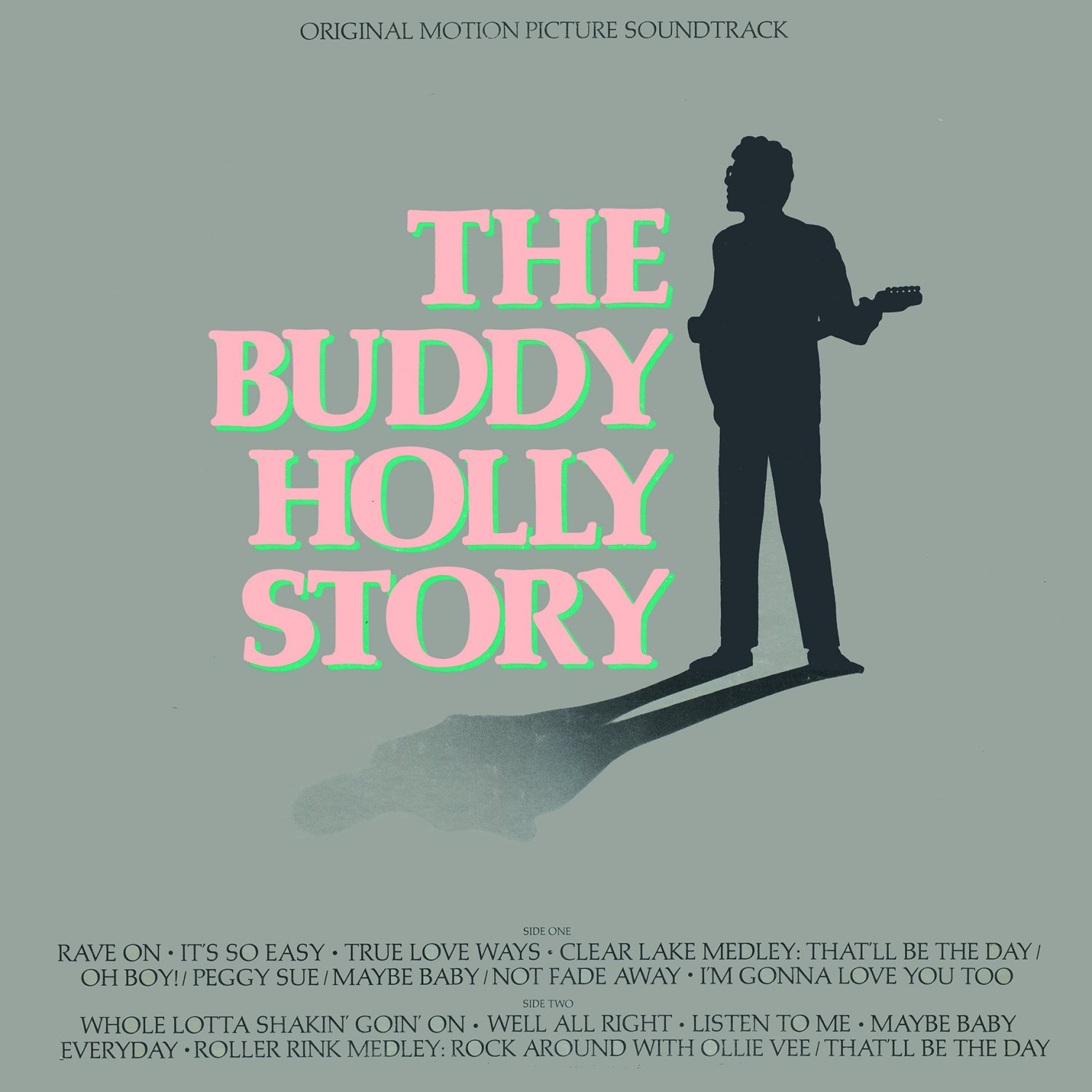 The Buddy Holly Story - Original Film Soundtrack, Gary Busey OST LP/CD