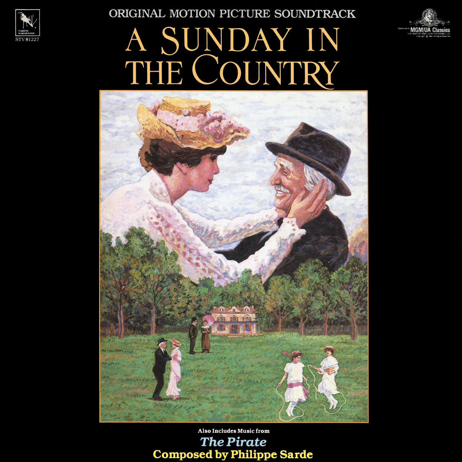 A Sunday In The Country / The Pirate - Original Soundtrack, Philippe Sarde OST LP/CD