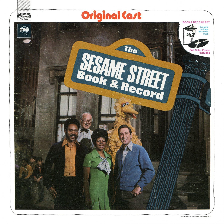 The Sesame Street Book & Record - Original Cast Soundtrack LP/CD