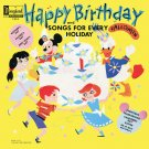 Happy Birthday and Songs For Every Holiday - Disney Music Collection LP/CD