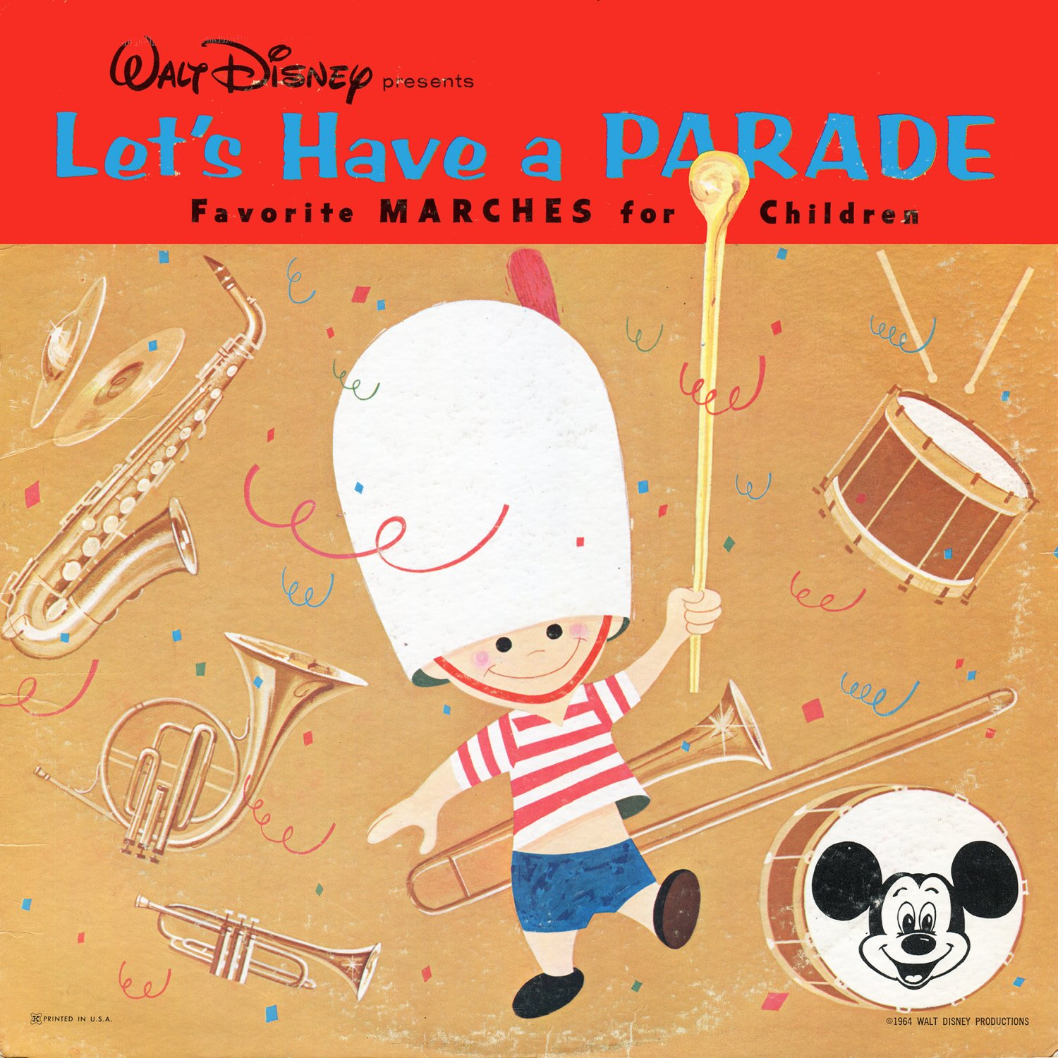 Let's Have A Parade - Walt Disney Favorite Marches Collection LP/CD