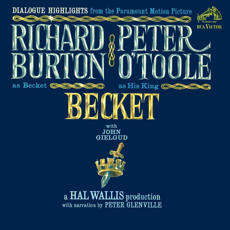 Becket - Dialogue Highlights Soundtrack, Laurence Rosenthal OST LP/CD