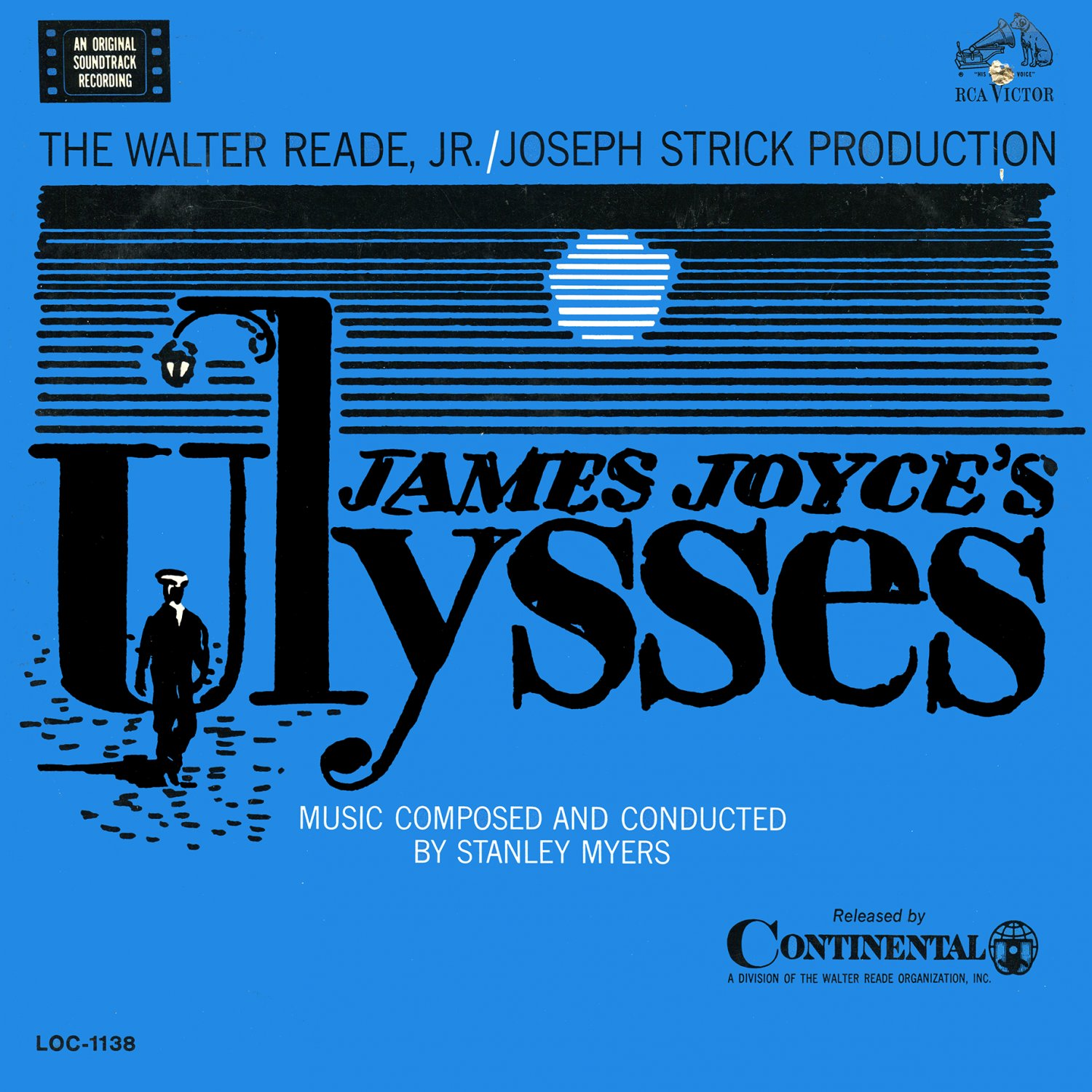 James Joyce's Ulysses (1967) - Original Soundtrack, Stanley Myers OST LP/CD