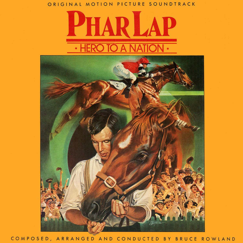 Phar Lap (1983) - Original Soundtrack, Bruce Rowland OST LP/CD