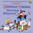Walt Disney's Treasury of Mother Goose Nursery Rhymes - A Collection of Children's Songs LP/CD