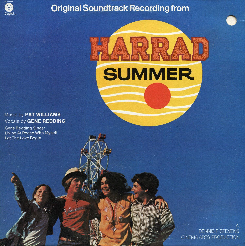 Harrad Summer (1974) - Original Soundtrack, Patrick Williams OST LP/CD