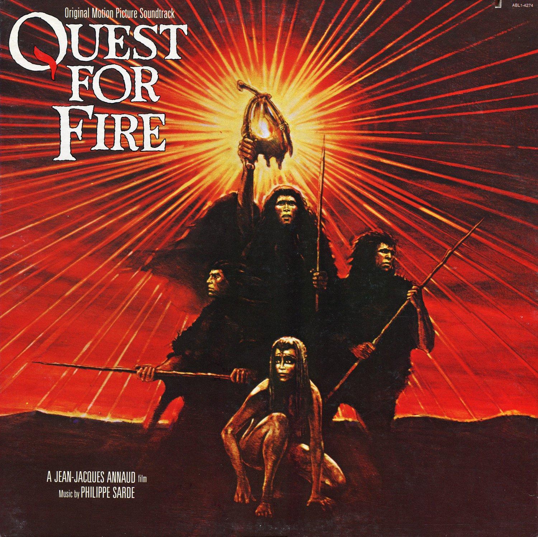 Quest For Fire / La Guerre du feu - Original Soundtrack, Philippe Sarde OST LP/CD