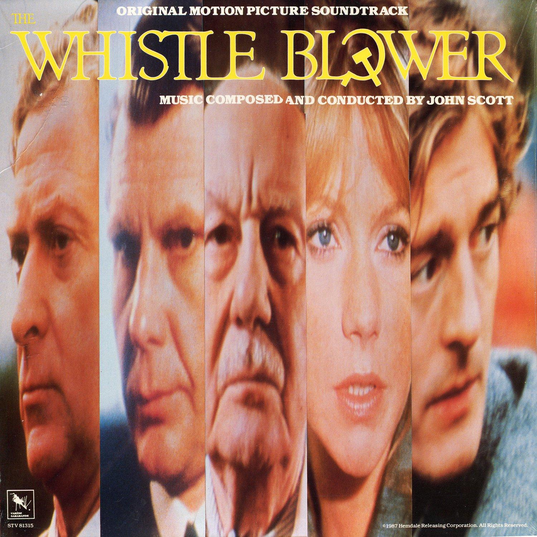 The Whistle Blower (1987) - Original Soundtrack, John Scott OST LP/CD