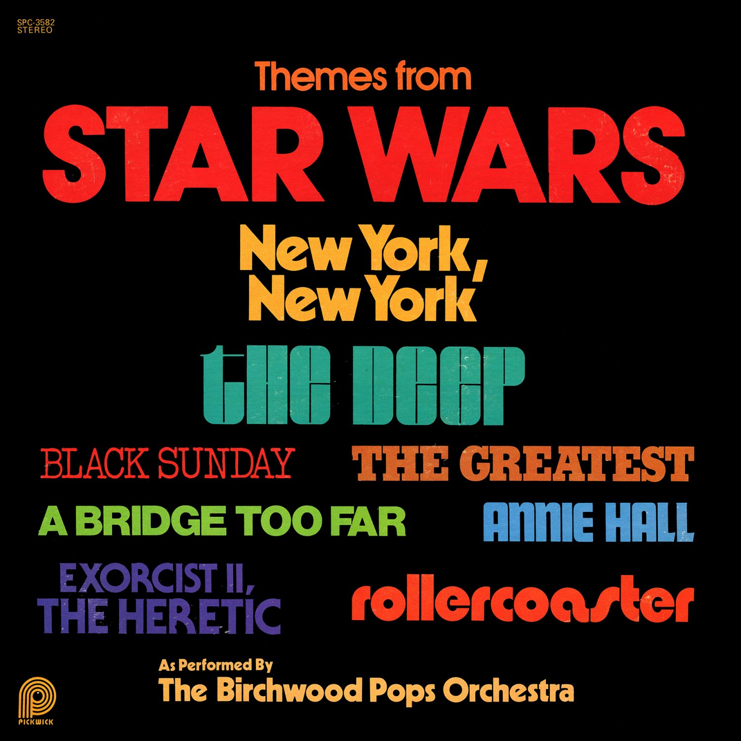 Themes from Star Wars/The Deep/Rollercoaster - Soundtrack Collection, Birchwood Pops LP/CD