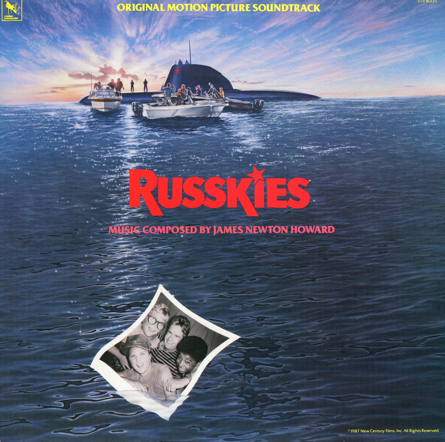 Russkies - Original Soundtrack, James Newton Howard OST LP/CD
