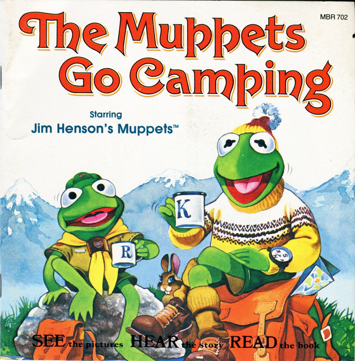 The Muppets Go Camping - See-Hear-Read Soundtrack, Kermit The Frog EP/CD
