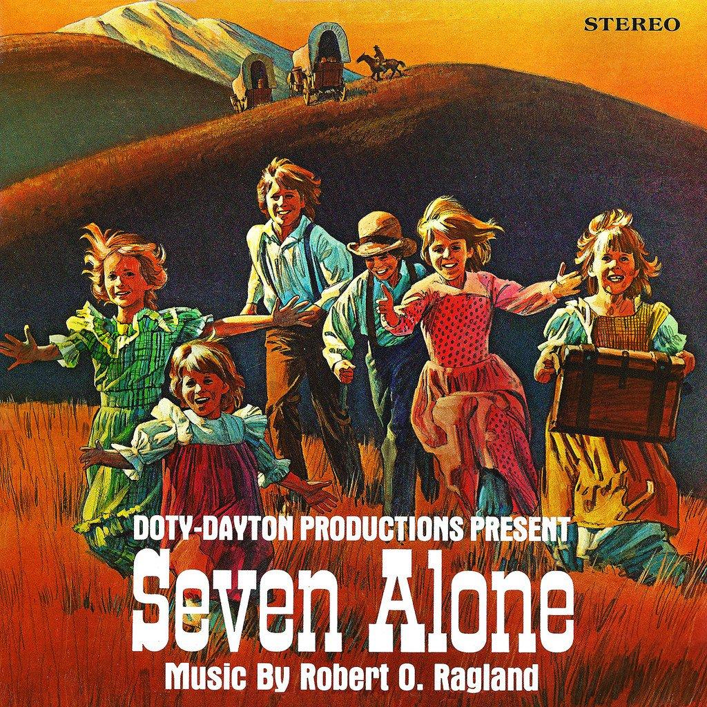 Seven Alone - Original Soundtrack, Robert Ragland OST LP/CD