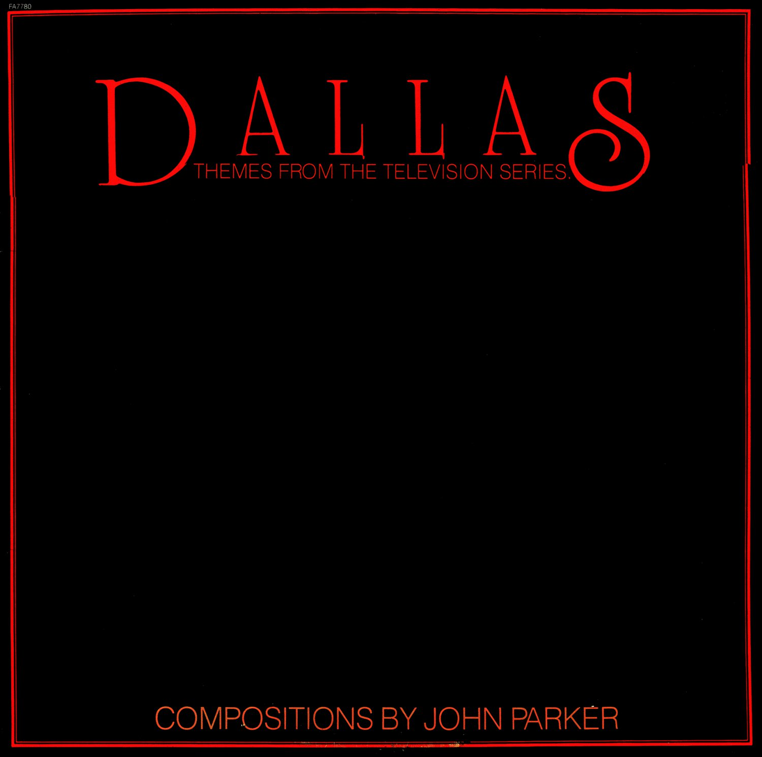 Dallas, Themes From The Television Series - Original Soundtrack, John Parker OST LP/CD