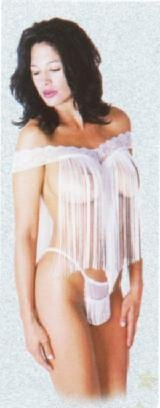 Fringe Baby Doll with Lace Top