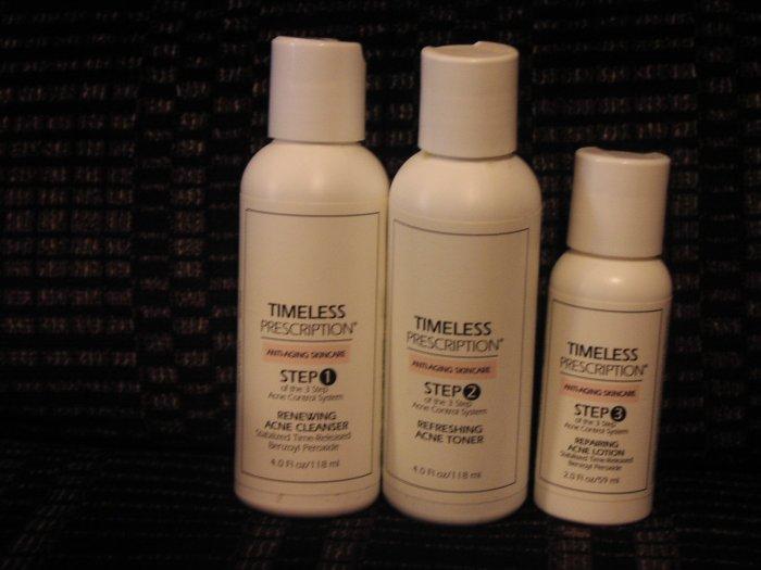 Timeless Prescription® 3 Step Acne Care System