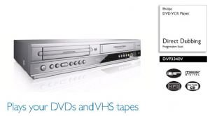 Philips Dvd/ Vcr Combo ~ Refurbished
