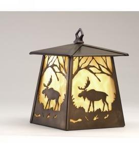 7.5w Moose Lantern Wall Sconce