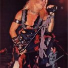 Vince Neil Signed 16x20 Photo Motley Crue - Looking Right
