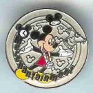 Disney cast exclusive silver merchantainment pin award