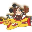 Disney Cast exclusive Flex Travel Mickey 100 years Plane