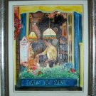 Christine Wong Original Oil Painting *WINDOW* One Of A Kind Signed Art 20&quot; by 16&quot;