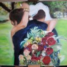 Christine ARTS Original Oil Paintings NEW LIFE Weddings