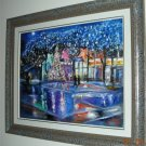 Christine ARTS Original Oil Paintings NIGHT CITY ANGELS