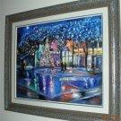 Christine ARTS Original Oil Paintings NIGHT CITY ANGELS