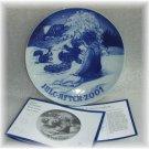 Bing & Grondahl *JULE AFTEN 2001* Christmas Plate NIB!