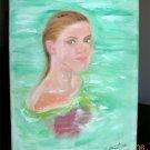 Christine ARTS Original Oil Paintings *GRACEFUL KELLY* Signed 2007