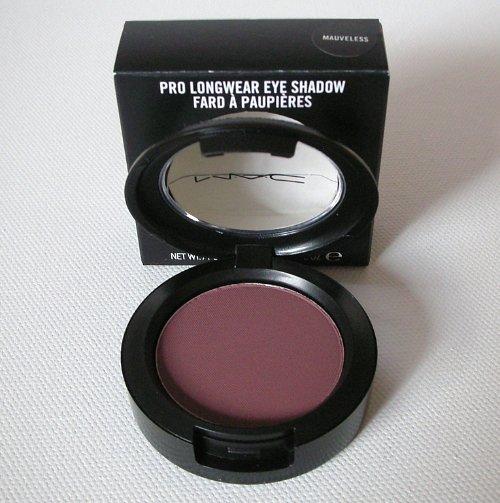 MAC PRO Longwear Eye Shadow MAUVELESS Mauve Brown Eyeshadow M.A.C Cosmetics NIB