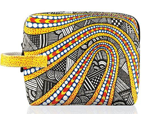 MAC Illustrated Petite Bag By NIKKI FARQUHARSON Graphic M.A.C Cosmetic NIB!