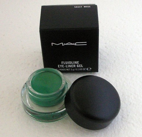 MAC FLUIDLINE Eye-Liner Gel SASSY MOSS Green Eyeliner M.A.C Cosmetics NIB!