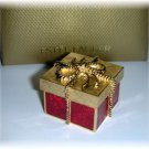 ESTEE LAUDER BEYOND PARADISE Solid Perfume Compact Golden Gift Box 2005 NEW!