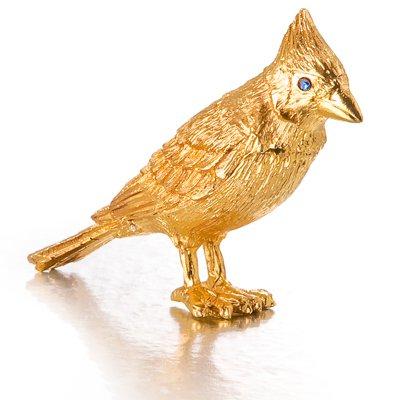 ESTEE LAUDER GOLDEN BIRD Holiday 2010 Pleasures Solid Perfume Compact  NEW!