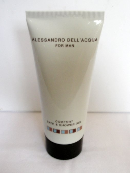 ALESSANDRO DELL'ACQUA FOR MAN Comfort Bath & Shower Gel 3.4 oz 100 ml NEW!