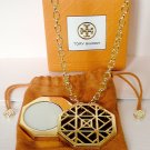 TORY BURCH Solid Perfume Pendant Necklace Jewelry Limited Edition 2014 NIB!