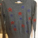 CHANEL 2014 DALLAS Cashmere Blend Sweater Pullover Grey Runway Size 38 Italy NWT!