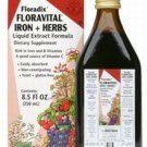 Floravital Iron & Herbs (yeast free) - Rich in Iron & B Vitamins