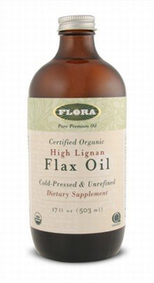 High Lignan Flax Oil (Certified Organic)