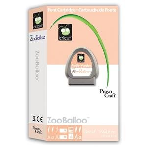 ZooBalloo Cartridge for Cricut Expression/Personal Cut