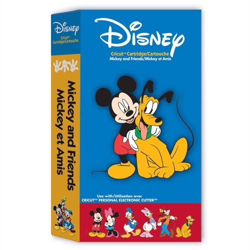 Disney Mickey and Friends Cartridge for Cricut Expression & CriCut Personal Cutter