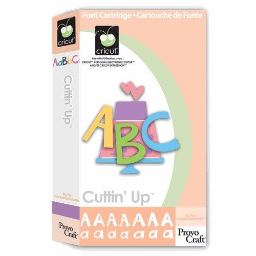 Cuttin' Up CriCut Cartridge Cartridge for Cricut Expression & CriCut Personal Cutter