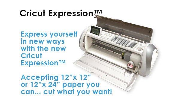 Cricut Expression Die Cut Machine Free 2 Cartridges Included!