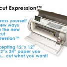 Cricut Expression Die Cut Machine Free 2 Cartridges Included!
