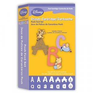 Disney CRICUT POOH FONT CARTRIDGE  for Cricut Expression & CriCut Personal Cutter