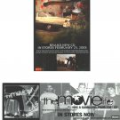 The Movielife Album Promotion Handbills