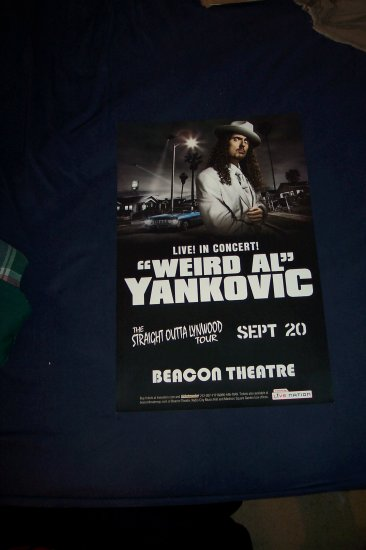 Weird Al Yankovic Tour Poster